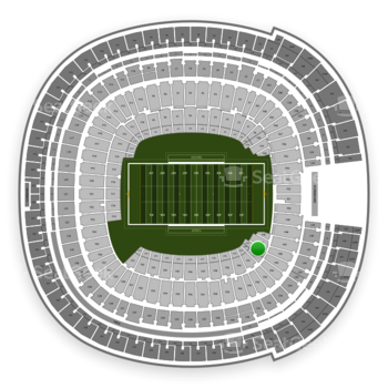 Holiday Bowl at SDCCU Stadium Field 43 View