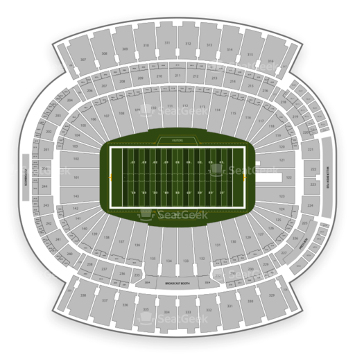 Buffalo Bills Seating Chart & Map | SeatGeek