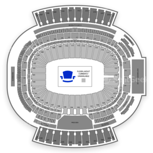 New Era Field Seating Chart NCAA Football