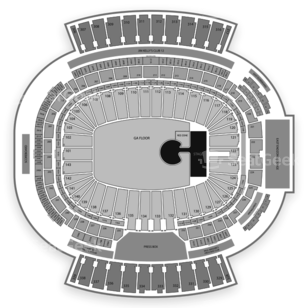 New Era Field Seating Chart Concert