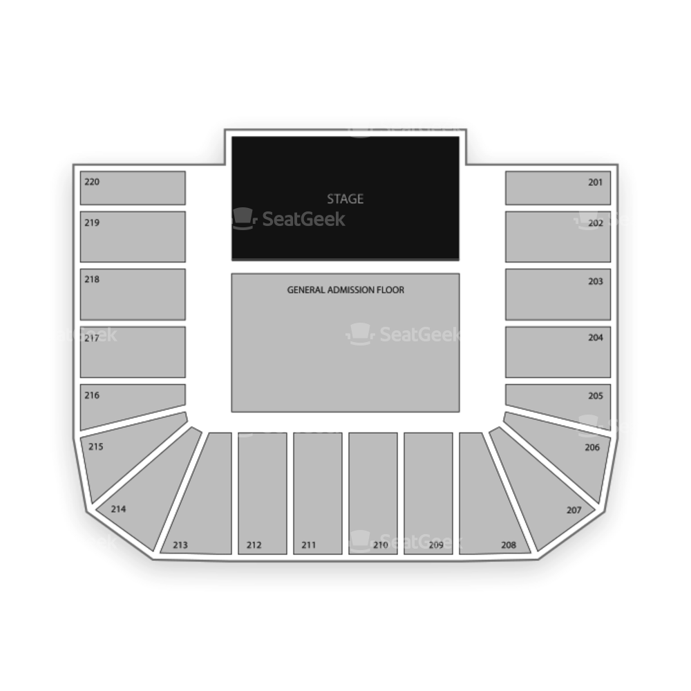 Roy Wilkins Auditorium Seating Chart Sports