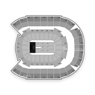 CenturyLink Center Seating Chart Concert