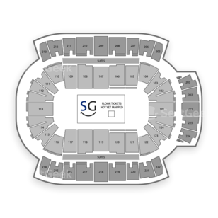 CenturyLink Center Seating Chart NBA