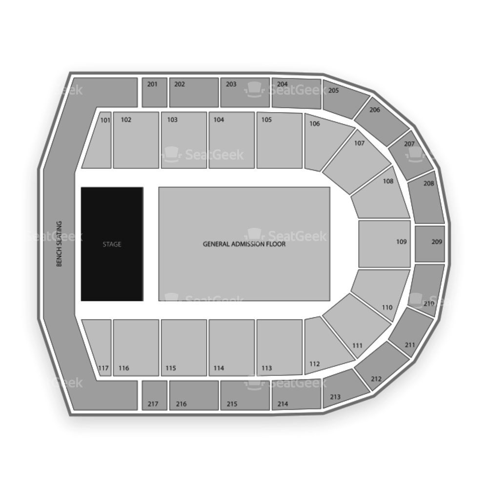 Credit Union 1 Arena Seating Chart Concert