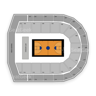 UIC Pavilion Seating Chart NCAA Basketball