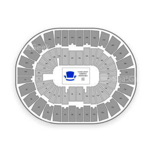 Legacy Arena at The BJCC Seating Chart Classical