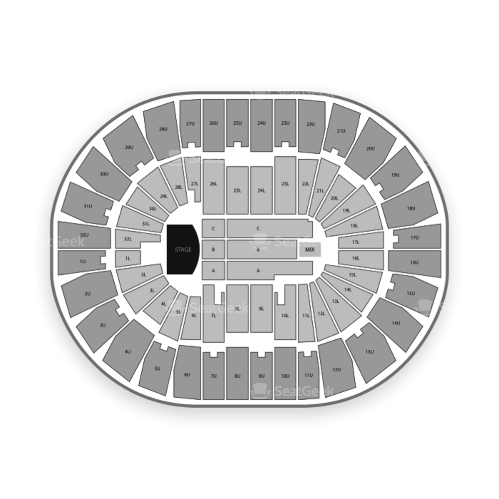 Legacy Arena at The BJCC Seating Chart Concert