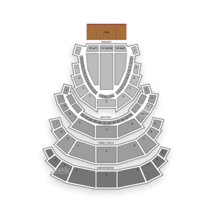 Academy of Music Seating Chart Theater