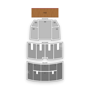 Robinson Center Music Hall Seating Chart Theater