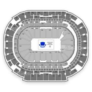American Airlines Center Seating Chart Comedy