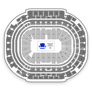 American Airlines Center Seating Chart Wrestling