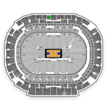 Dallas Mavericks at American Airlines Center Section 309 View