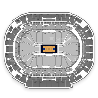American Airlines Center seating chart Dallas Mavericks
