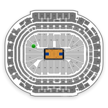 Dallas Mavericks at American Airlines Center Section 114 View