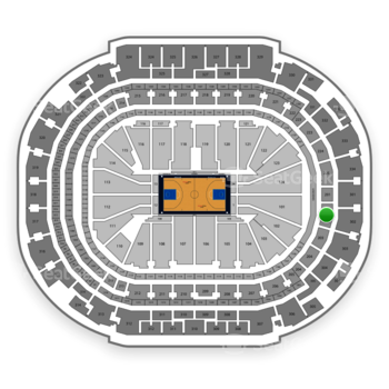 Dallas Mavericks at American Airlines Center Section 202 View