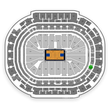 Dallas Mavericks at American Airlines Center Section 203 View