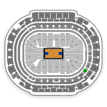Dallas Mavericks at American Airlines Center Section 204 View