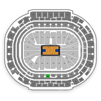 Dallas Mavericks at American Airlines Center Section 210 View