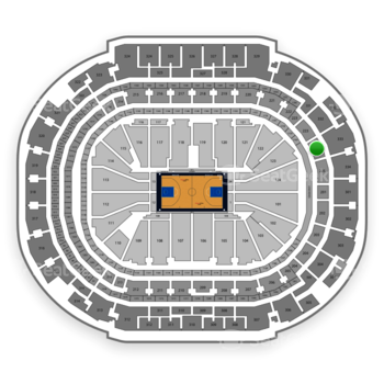 Dallas Mavericks at American Airlines Center Section 224 View