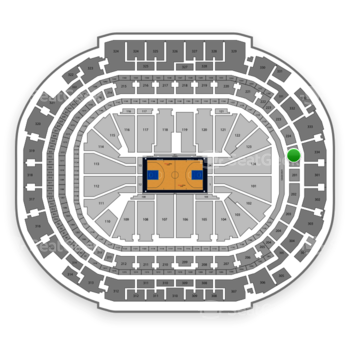 Dallas Mavericks at American Airlines Center Section 225 View