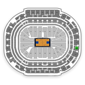 Dallas Mavericks at American Airlines Center Section 302 View
