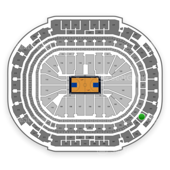 Dallas Mavericks at American Airlines Center Section 304 View