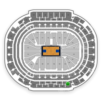 Dallas Mavericks at American Airlines Center Section 307 View