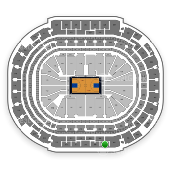 Dallas Mavericks at American Airlines Center Section 308 View
