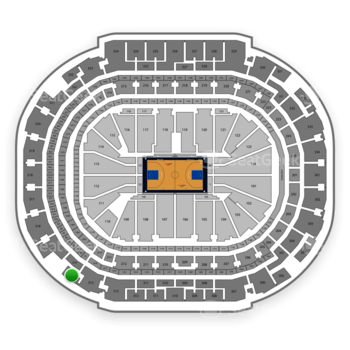 Dallas Mavericks at American Airlines Center Section 314 View
