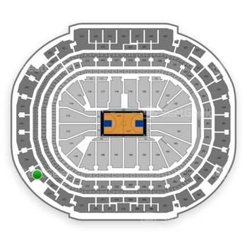 Dallas Mavericks at American Airlines Center Section 315 View