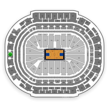Dallas Mavericks at American Airlines Center Section 318 View