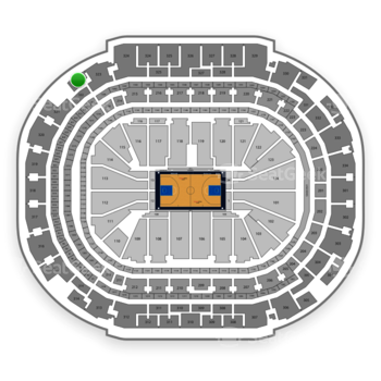 Dallas Mavericks at American Airlines Center Section 322 View