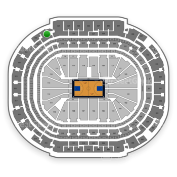 Dallas Mavericks at American Airlines Center Section 323 View