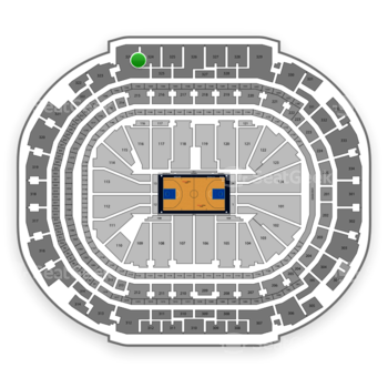 Dallas Mavericks at American Airlines Center Section 324 View