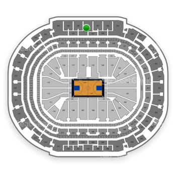 Dallas Mavericks at American Airlines Center Section 326 View
