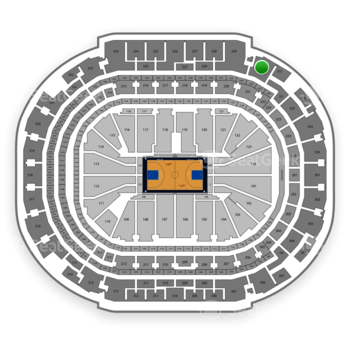 Dallas Mavericks at American Airlines Center Section 330 View