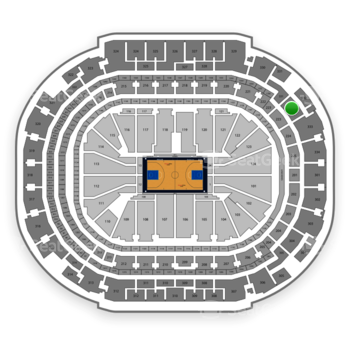 Dallas Mavericks at American Airlines Center Section 332 View