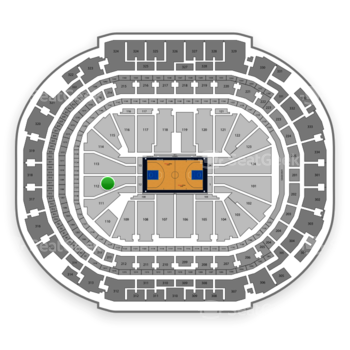 Dallas Mavericks at American Airlines Center Section 112 View