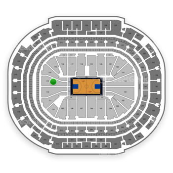 Dallas Mavericks at American Airlines Center Section 113 View
