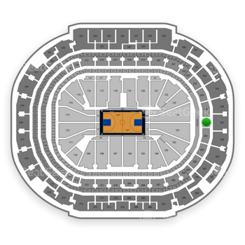 Dallas Mavericks at American Airlines Center Section 201 View