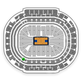 Dallas Mavericks at American Airlines Center Section 213 View