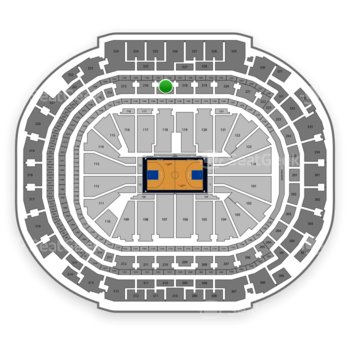 Dallas Mavericks at American Airlines Center Section 217 View