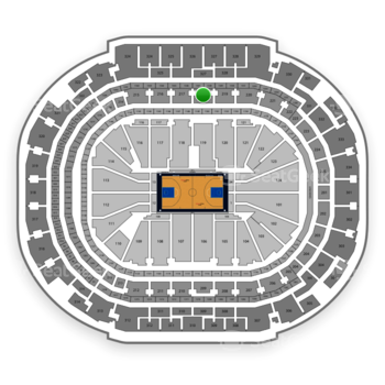 Dallas Mavericks at American Airlines Center Section 218 View