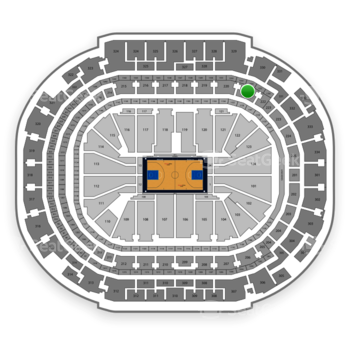 Dallas Mavericks at American Airlines Center Section 221 View