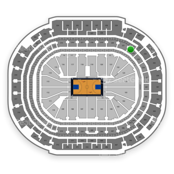 Dallas Mavericks at American Airlines Center Section 222 View