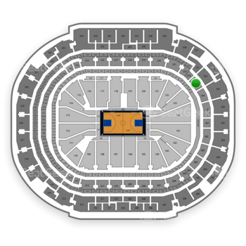 Dallas Mavericks at American Airlines Center Section 223 View