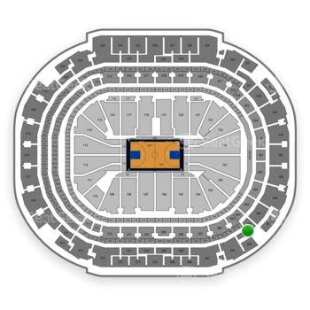 Dallas Mavericks at American Airlines Center Section 305 View