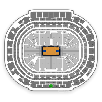 Dallas Mavericks at American Airlines Center Section 310 View