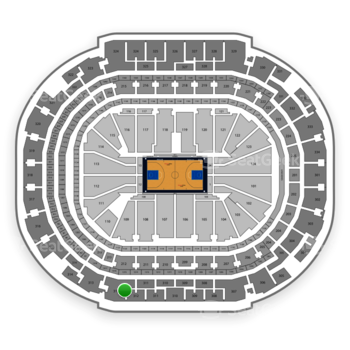 Dallas Mavericks at American Airlines Center Section 312 View