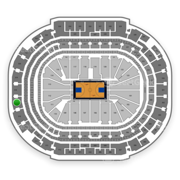 Dallas Mavericks at American Airlines Center Section 317 View